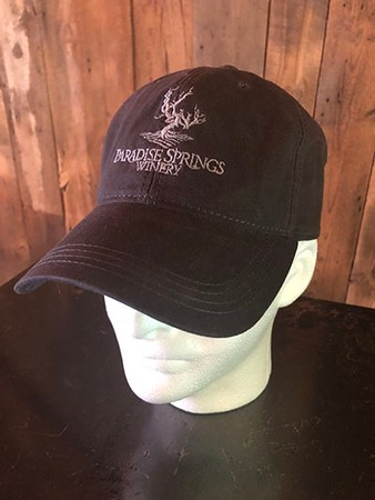 Faded Black Logo Hat