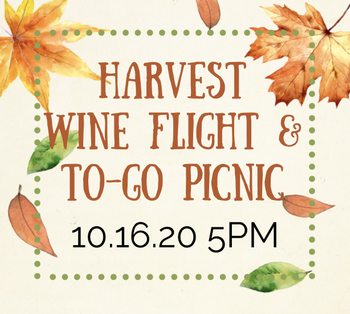 Harvest Wine Flight and To-Go Picnic